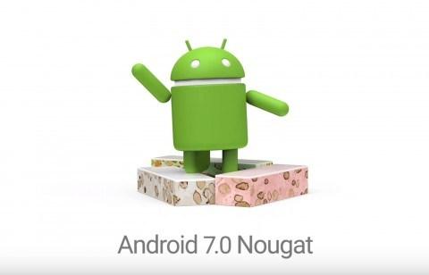 これが新しいスマートフォンのOSです。Android7.0 Nougat公開!