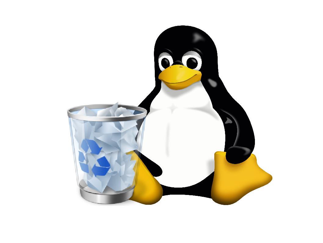 Linuxでゴミ箱を空に出来ない時には?