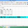 Excelデータベース管理の小技 SUMPRODUCT関数について