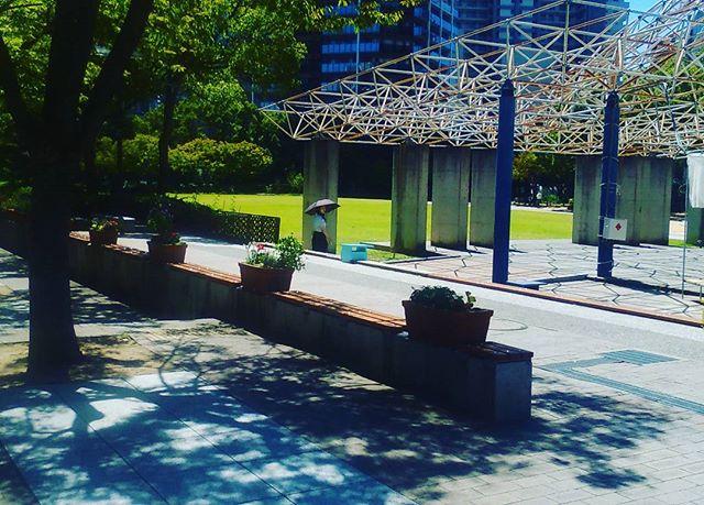 神戸の東遊園地に昼休憩に撮影。自然があり心癒される空間です。ところで神戸開港150年の旗もいつの間にかなくなり、バスも戸田恵梨香さんから、150周年のロゴへ戻ってしまいました。期間終了だったかな?しかし絵面的によろしくありませんね。