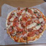 久しぶりにピザを作りました