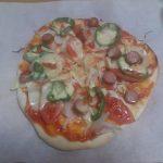 本日もピザを作っています。