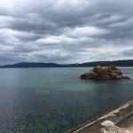 毎年定番の日本海にやってきました。