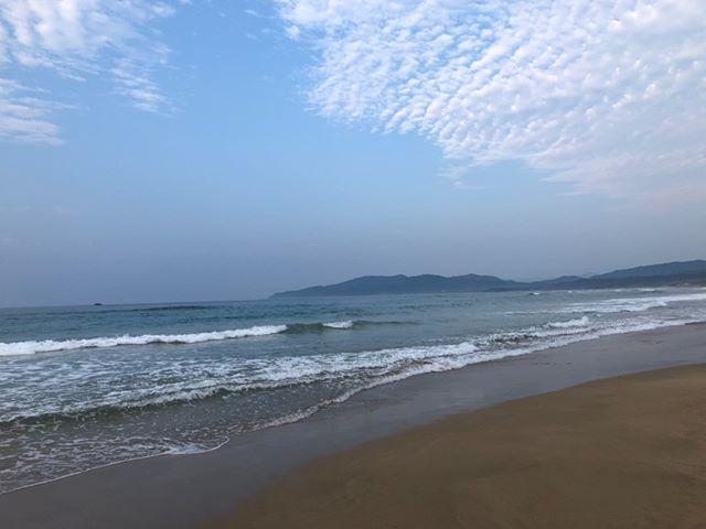 今年もお盆休みは久美浜に。なぜか高波のことが多いんだよなあ